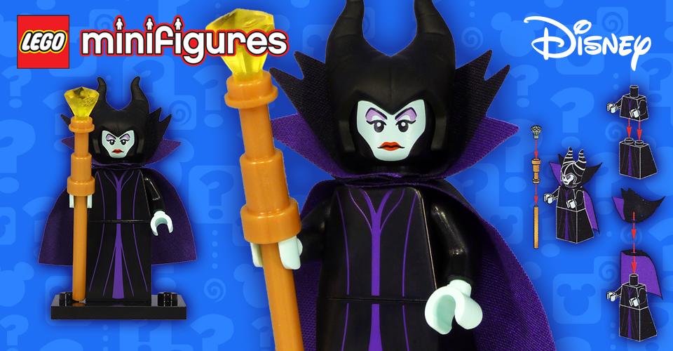 Lego Maleficent Minifigure LEGO Minifigure...