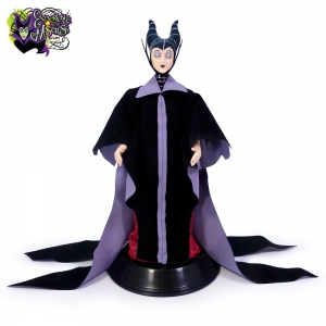 2004 de agostini disney princess maleficent porcelain doll magazine