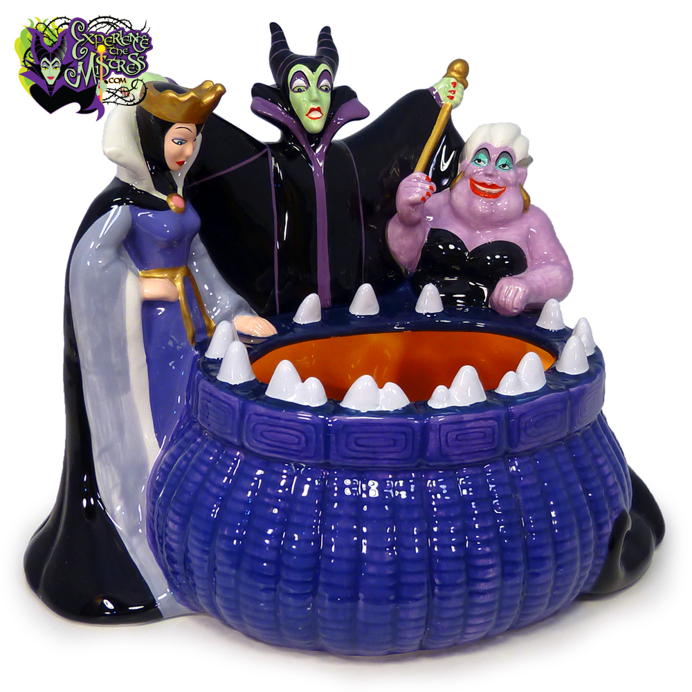 Disney Store Villains Ceramic Candy Dish Figurine