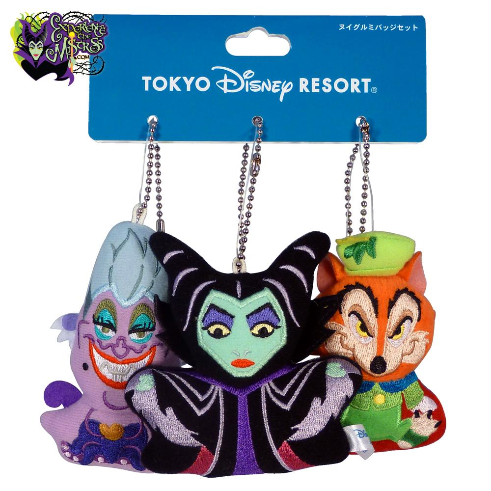 Tokyo Disney Resort 東京ディズニーリゾート Disney Villains Pin