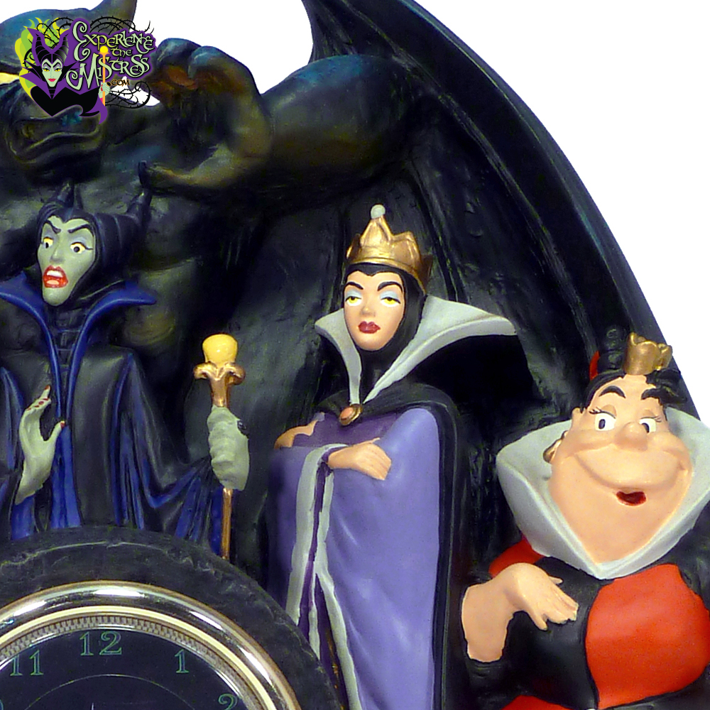 Disney Parks Catalog Disney Time Works Villains Sculpted