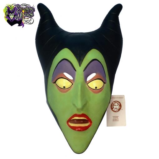 1989-Don-Post-Studios-Disney-Villains-Maleficent-Latex-Rubber-Halloween-Costume-Mask-001