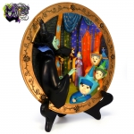 1994-Disney-Store-Sleeping-Beauty-Maleficent's-Curse-Dimensional-Collectible-Plate-002