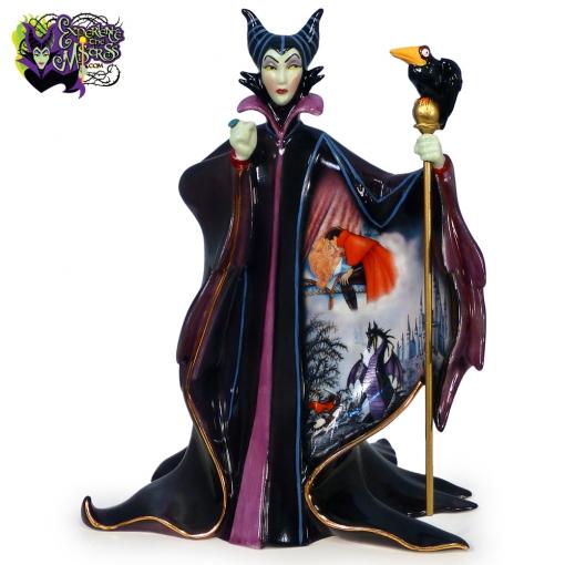 2007-Bradford-Exchange-Disney-Villains-Heirloom-Porcelain-Figurine-Maleficent-001