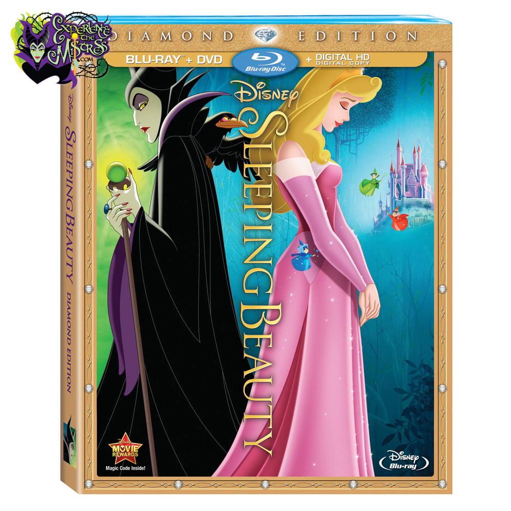 disney �sleeping beauty� diamond edition bluray dvd
