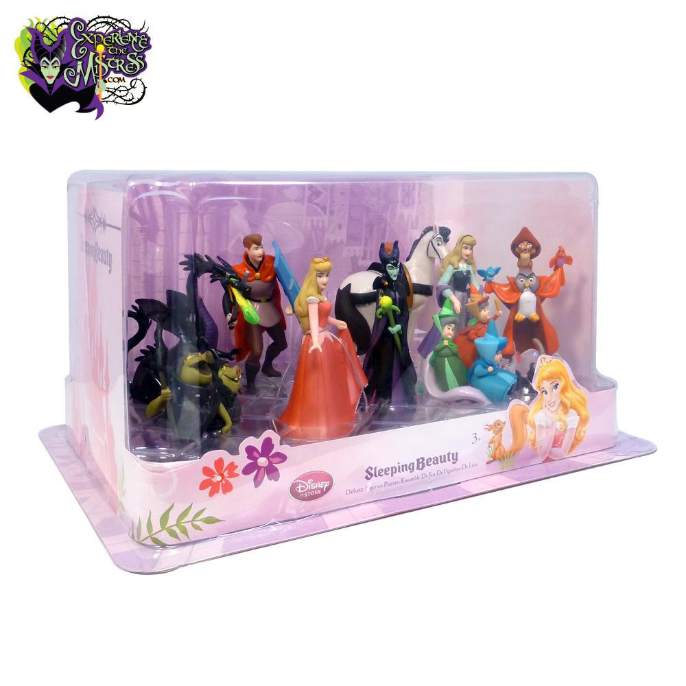 Disney Store Sleeping Beauty Deluxe Pvc Figurine Playset