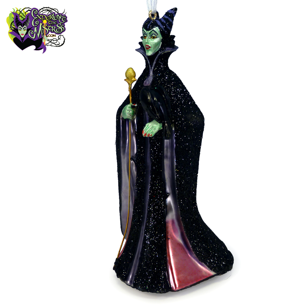 Evil Christmas Tree: Hallmark Disney Blown Glass Christmas Tree Holiday