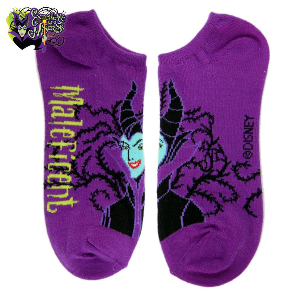 Maleficent inspired  Party Crasher sleeping beauty socks