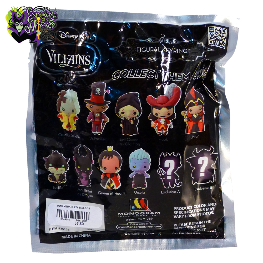 monogram disney villains  series 1 3d figural keyring  u2013 maleficent as dragon
