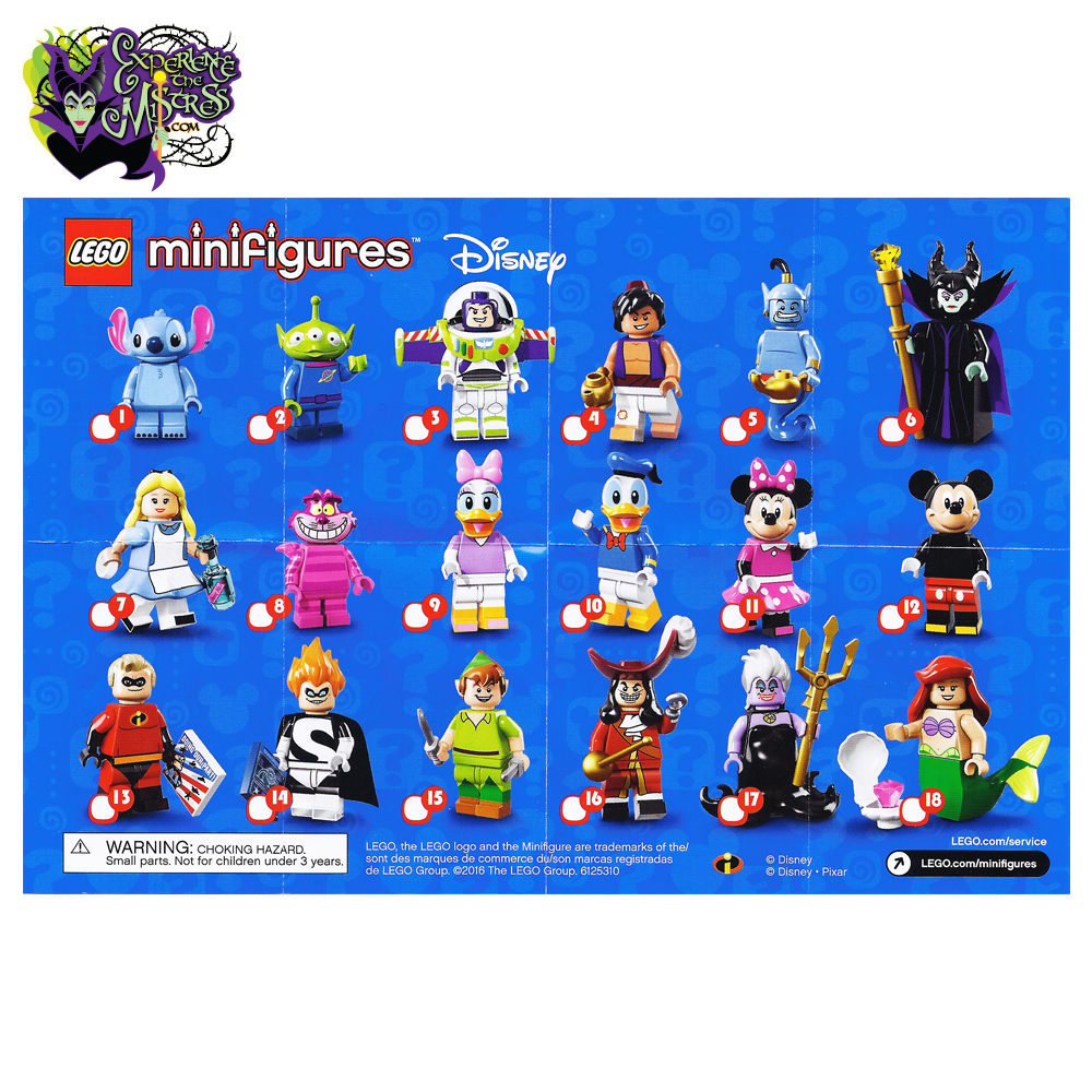 LEGO Minifigures Collection: Disney Character Edition: Series 1 ...