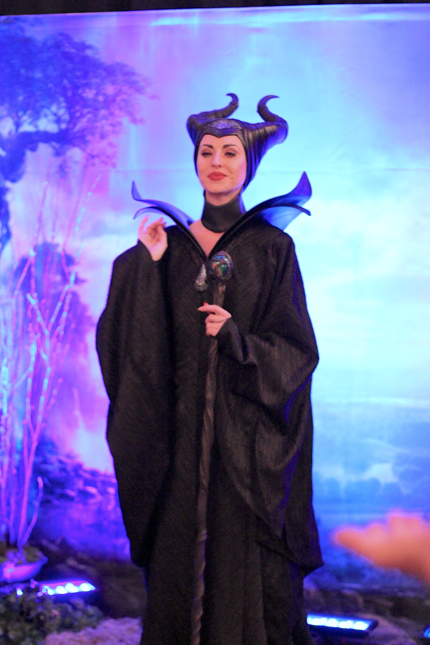 disney parks new maleficent movie face character greets