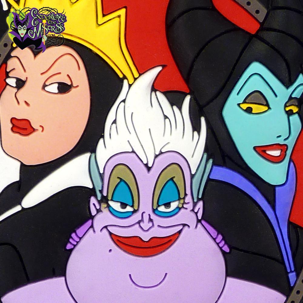 Disney Villains Ursula Soft Touch PVC Magnet Multi Color One Size