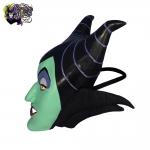 2003-Disneyland-Paris-Villains-Latex-Rubber-Halloween-Costume-Mask-Maleficent-005