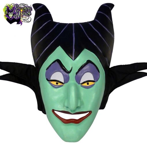 2003-Disneyland-Paris-Villains-Latex-Rubber-Halloween-Costume-Mask-Maleficent-007