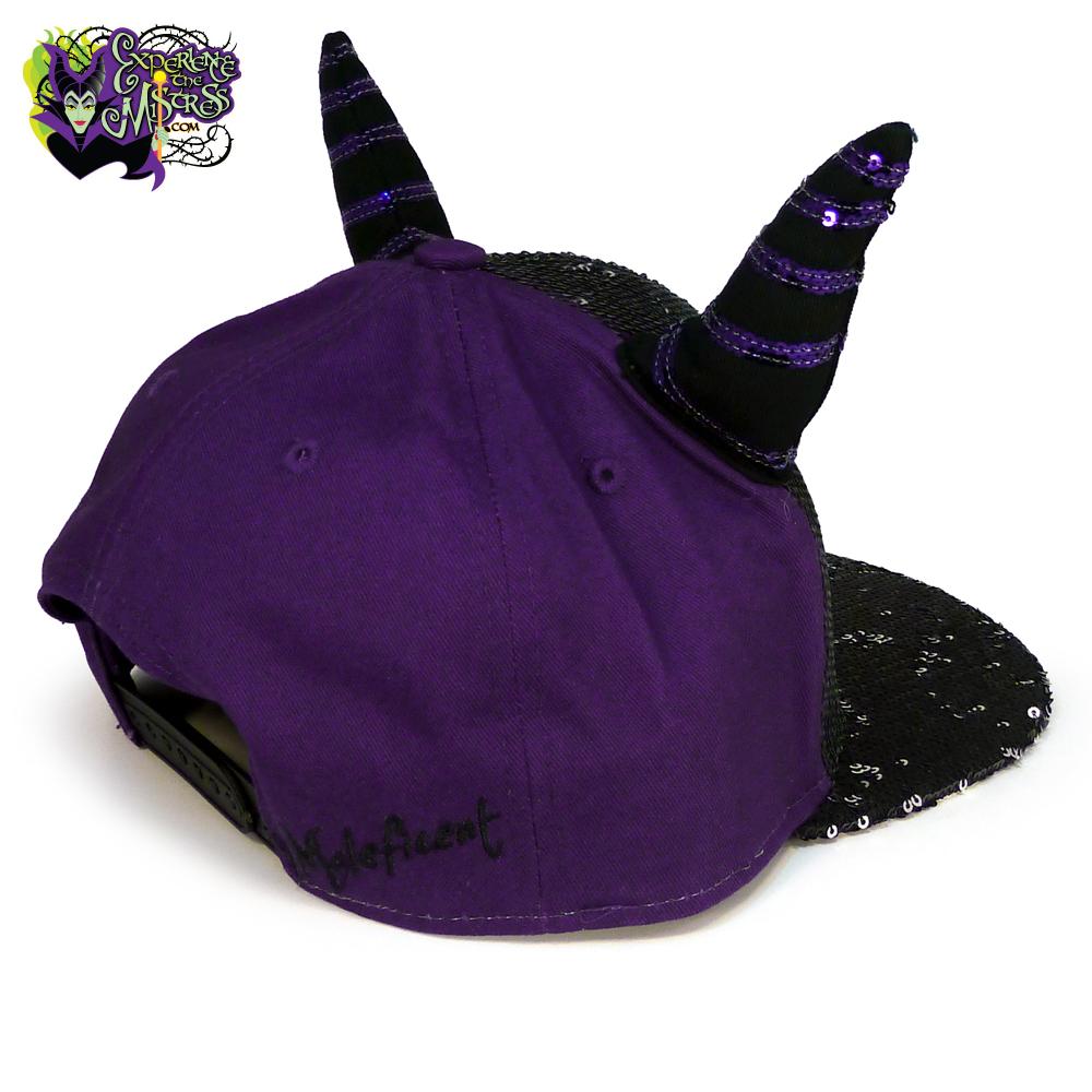 e376257ac8c03 Disneyland Paris Disney Villains Sequined Baseball Cap Hat with ...