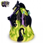 2004-Disney-Auctions-Disney-Villains-Double-Sided-Ceramic-Cookie-Jar-Maleficent-Dragon-003