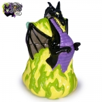 2004-Disney-Auctions-Disney-Villains-Double-Sided-Ceramic-Cookie-Jar-Maleficent-Dragon-006