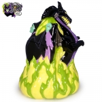 2004-Disney-Auctions-Disney-Villains-Double-Sided-Ceramic-Cookie-Jar-Maleficent-Dragon-007