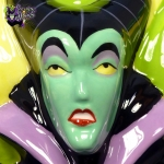 2004-Disney-Auctions-Disney-Villains-Double-Sided-Ceramic-Cookie-Jar-Maleficent-Dragon-009
