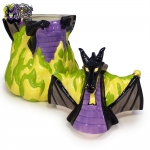 2004-Disney-Auctions-Disney-Villains-Double-Sided-Ceramic-Cookie-Jar-Maleficent-Dragon-012