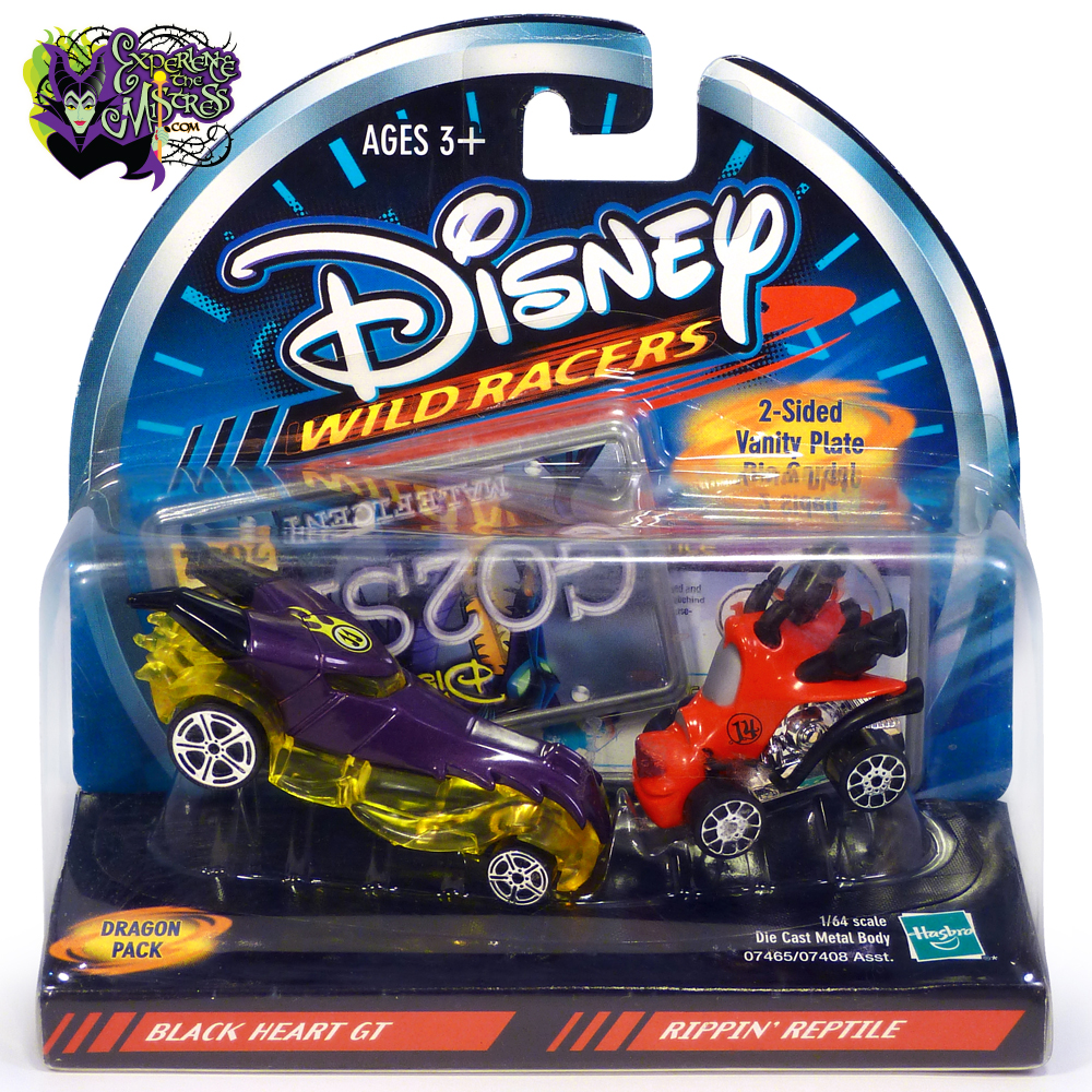 Hasbro Disney Wild Racers: Dragon Pack Die-Cast Cars 2-Pack