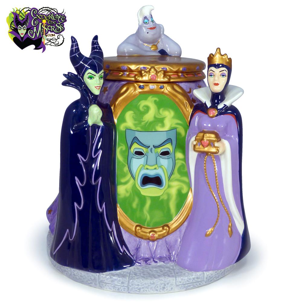 Disney direct villains dolomite cookie jar figurine - Evil queen disney ...