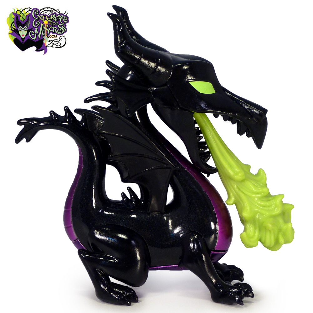 Sleeping Beauty Maleficent as Dragon with Flames Metallic Glow US Exclusive...