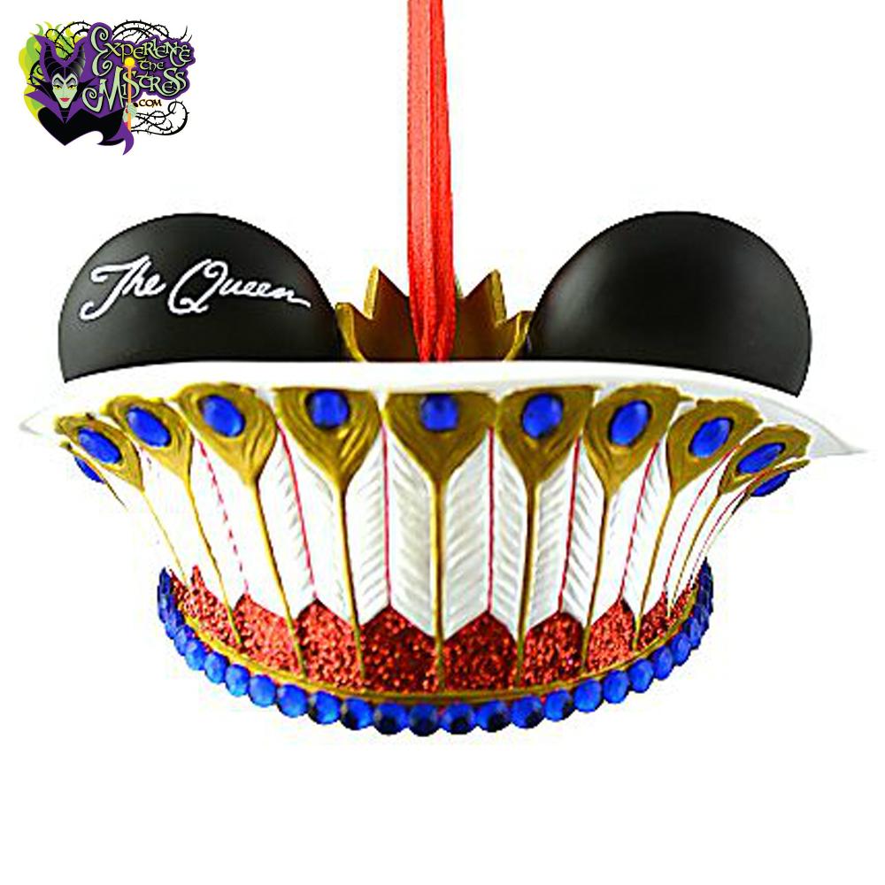 Disney Parks Ear Hat Ornament Collection: Disney Villains ... Disney Evil Queen Ornament
