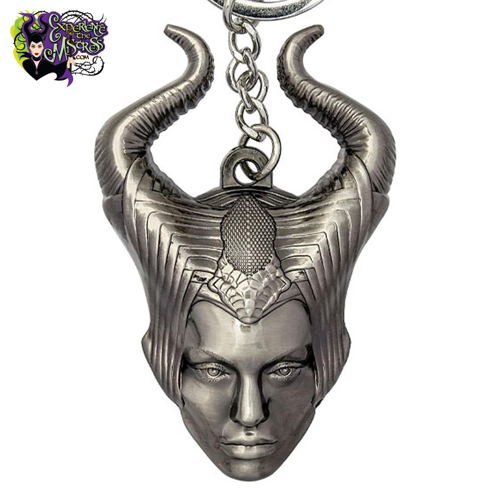 Funko Disney Maleficent Movie Pewter Figural Head Keyring