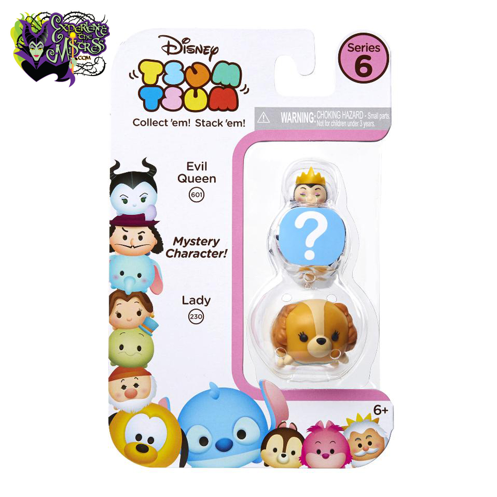 jakks pacific disney tsum tsum series 6 3 pack small. Black Bedroom Furniture Sets. Home Design Ideas