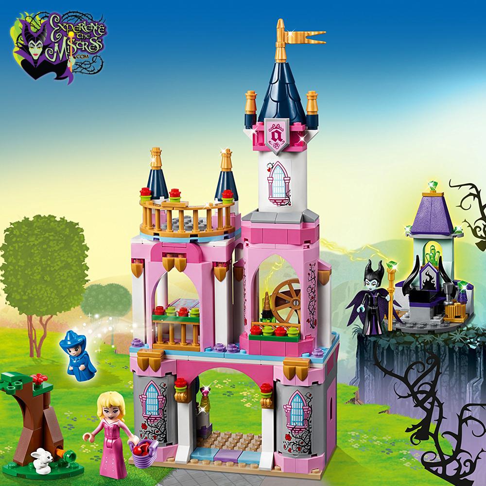 Lego Disney Princess Sleeping Beauty S Fairytale Castle Playset 41152 Mini Doll Action Figure