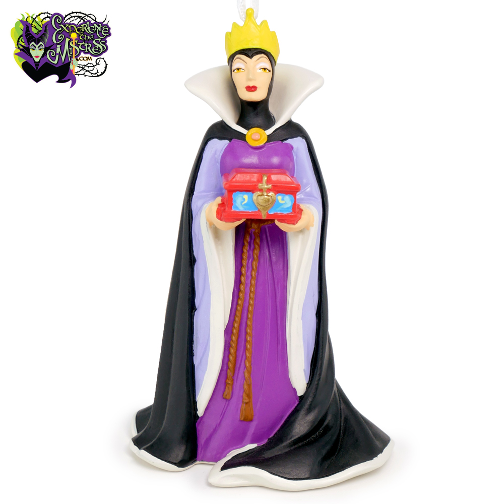 Hallmark Disney Resin Christmas Tree Holiday Ornament ... Disney Evil Queen Ornament