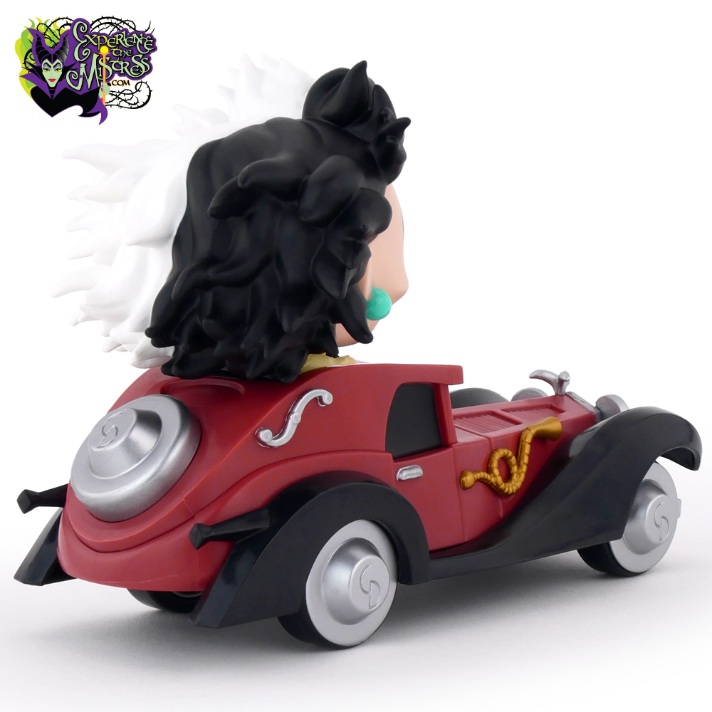 Funko Disney Pop Rides 61 Vinyl Figure With Vehicle Cruella De