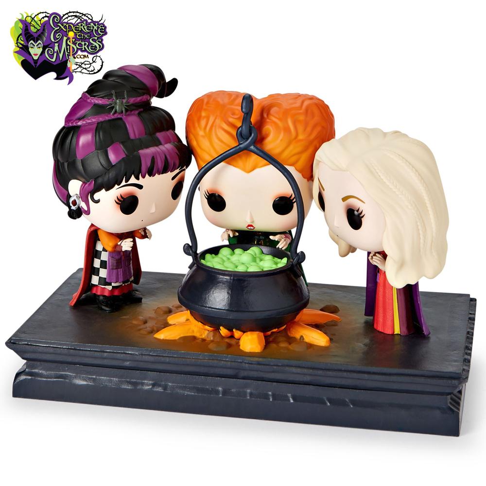 Funko Disney Hocus Pocus Movie Moments Pop Vinyl Figurine Scene 560 Winifred Mary Amp Sarah