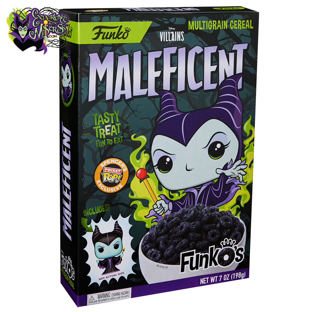 Funko Disney Villains Funko S Cereal With Pocket Pop Vinyl