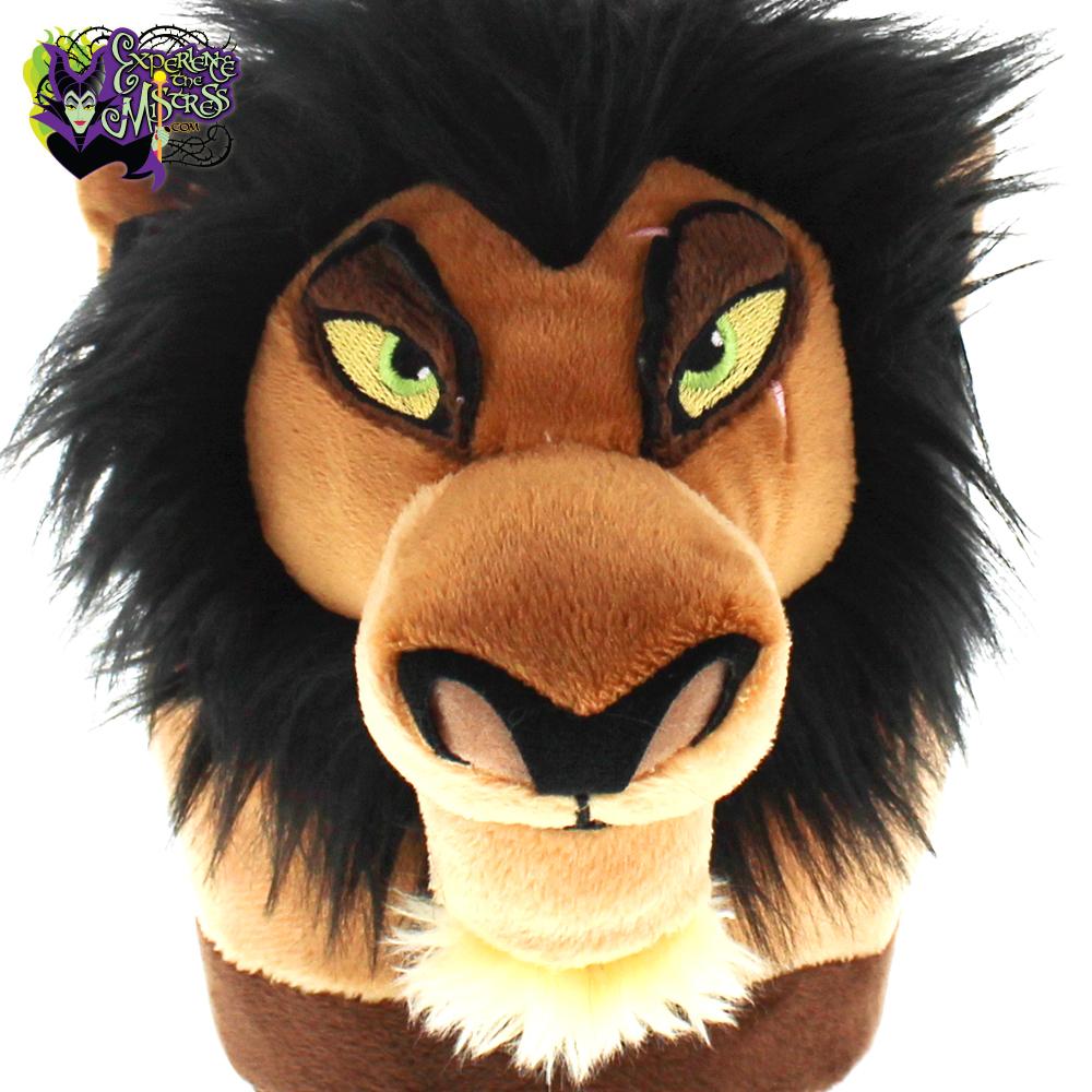 Happy Feet Disney Villains The Lion King Plush Character Slippers Scar Experiencethemistress Com